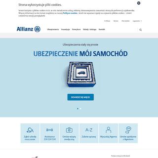 ArchiveBay.com - allianz.pl - www.allianz.pl - Allianz Polska - Ubezpieczenia dla Ciebie