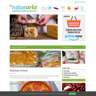 Blog de cocina, comida sana y recetas saludables - Naturarla