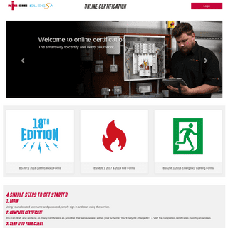 NICEIC Online Certification