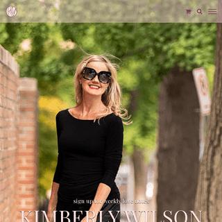 Home - Kimberly Wilson