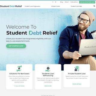 Student Loan Help, Resources & News - Student Debt Relief