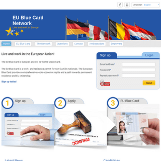 EU Blue Card Network