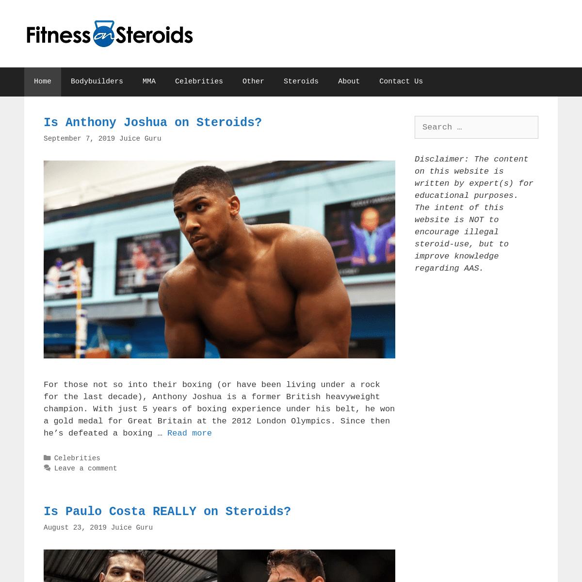 FitnessOnSteroids.com -