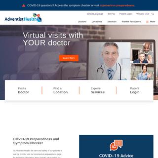 Adventist Health - West Coast and Hawaii Hospitals