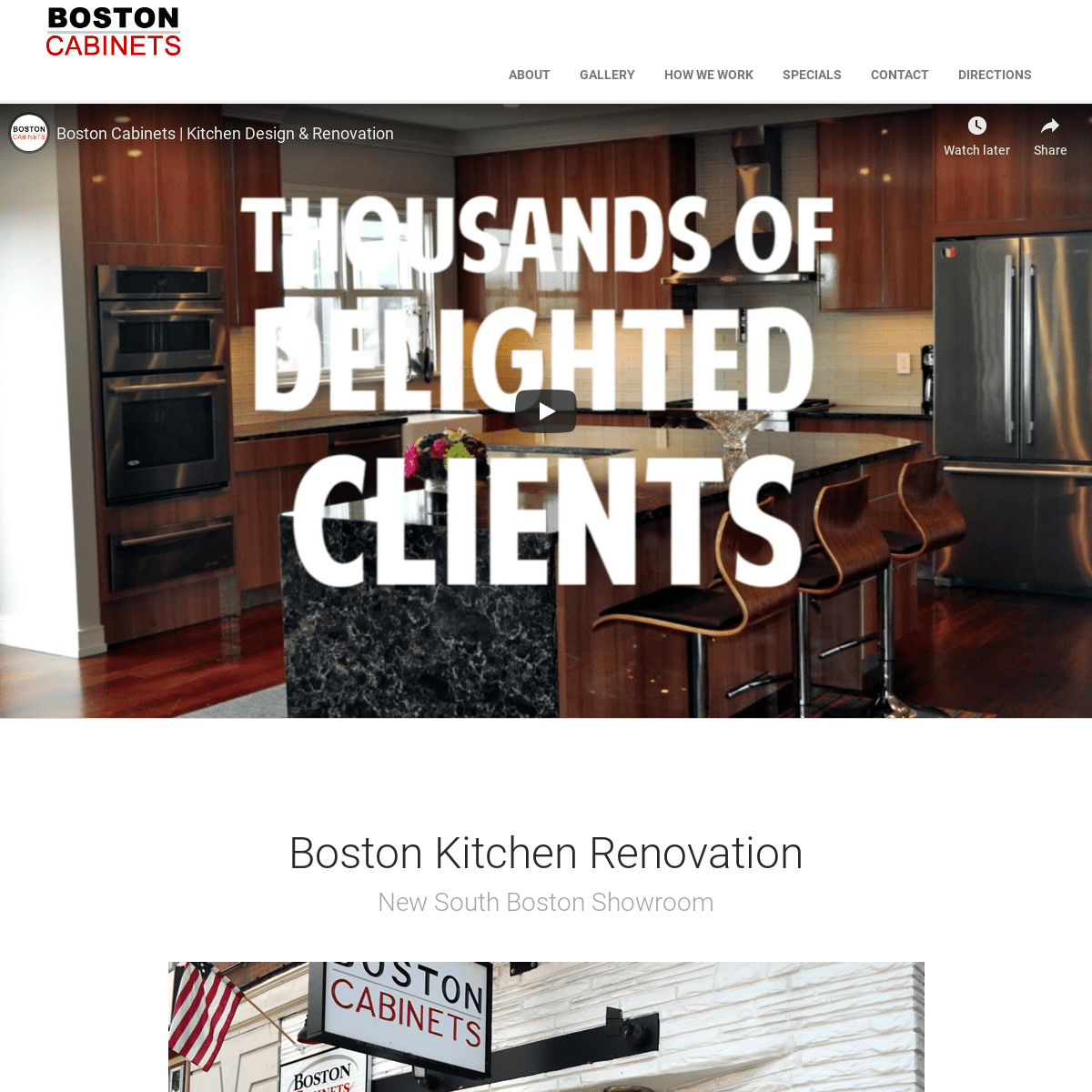 Boston Cabinets - Kitchen Design, Renovation, Remodel