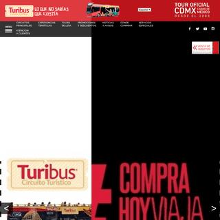 TURIBUS, TOUR OFICIAL DE LA CDMX, Innovamos la manera de ver la ciudad de México