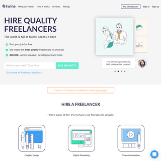 Twine- Hire quality freelancers for your job
