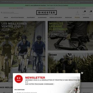 Boutique en ligne vélo, matériel, équipement - Bikester.fr