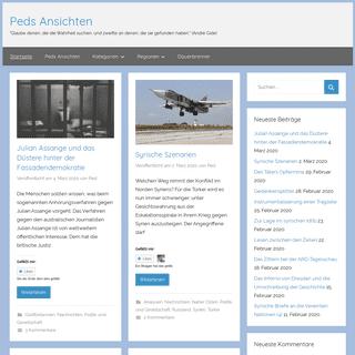 ArchiveBay.com - peds-ansichten.de - Peds Ansichten - Ein Blog zu Politik und Gesellschaft