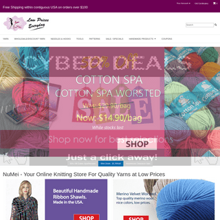 Knitting Yarn at Wholesale Prices - numei.com