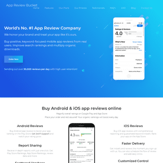 ArchiveBay.com - appreviewsbucket.com - Buy Android and iOS App Reviews - App Store Optimization Service (ASO)