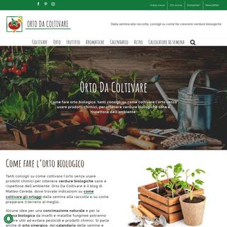 Come fare l'orto biologico- Orto da Coltivare