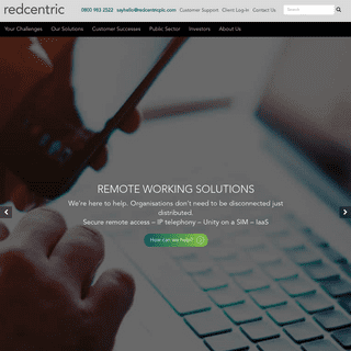 ArchiveBay.com - redcentricplc.com - Managed IT Service Provider - Networks, Cloud, UC - Redcentric
