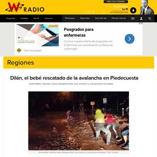 Piedecuesta avalancha - Dilán, el bebé rescatado de la avalancha en Piedecuesta - Regiones - W Radio Colombia