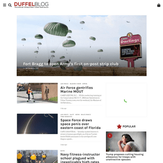 Duffel Blog — The American Military's Most Trusted News Source