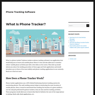 Phone Tracking Software