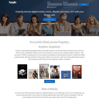 hoopla - streaming audiobooks, music, video & ebooks