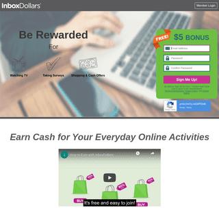 Make Extra Money Online From Home - InboxDollars