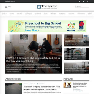 The Sector - Early Education News, Views & Reviews