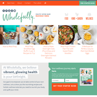 Wholefully — Healthy Recipes and Holistic Wellness