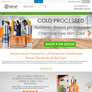 Yalmeh® Natural and Organic SkinCare Product That Truly Works – Yalmeh Naturals
