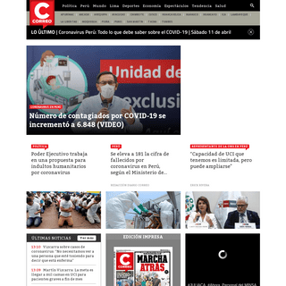 Noticias del Perú y del mundo - Coronavirus - Espectáculos y más - Correo
