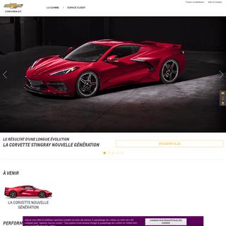 ArchiveBay.com - chevrolet.fr - Chevrolet Corvette et Camaro
