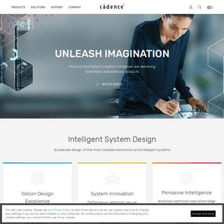Cadence - Computational Software for Intelligent System Design™