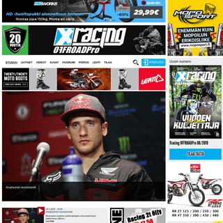 ArchiveBay.com - xracing.fi - XRacing OFFROADPro - Motocross - Enduro - Trial - Supermoto - Jäärata - Speedway - XRacing OFFROADPro