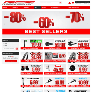 MTB & road bike spare parts, MTB components, Wheels, Frames, SHIMANO, SRAM, ROCKSHOX, the best prices are at RCZ Bike Shop