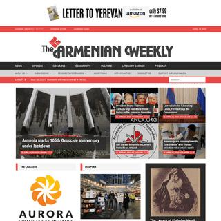 Home - The Armenian Weekly