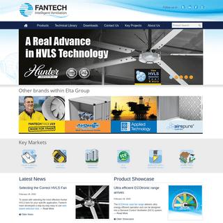 Fans - Exhaust Fans - Ventilation Fans - Intelligent Ventilation - Fantech
