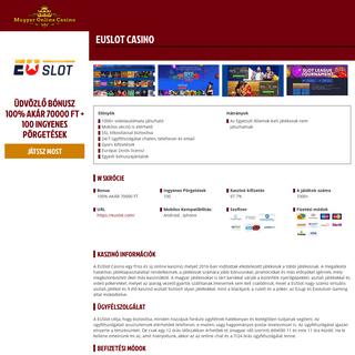 Highroller Casino Vélemények - Tények - Tesztek - Verseny és Bónusz infók