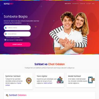 SOYLE.NET - Chat Mobil Sohbet Odaları Sohbet Sitesi