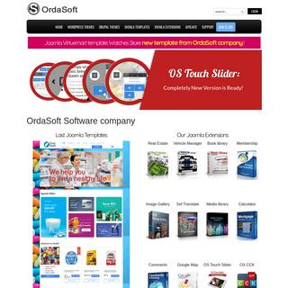 OrdaSoft Web Design and Web Development - Joomla, Drupal, WordPress