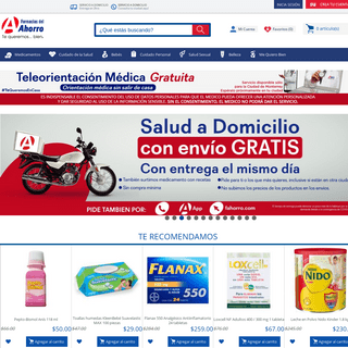 Farmacias del Ahorro - Home - Tienda en línea a todo México