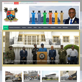 ArchiveBay.com - lagosstate.gov.ng - Lagos State Government – Centre of Excellence