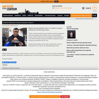 Rodzina Zbigniewa Stonogi usłyszała zarzuty - Radio Centrum