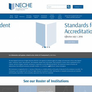 New England Commission of Higher Education - NECHE