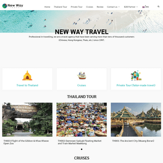 New Way Travel l DMC for FITs, Group, MICE in Thailand