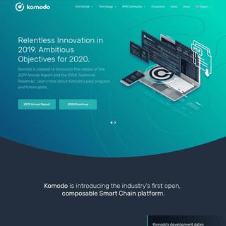 Komodo - An Open, Composable Smart Chain Platform