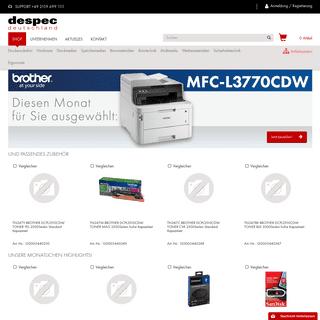 Home Despec Deutschland - Despec Supplies