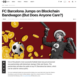 ArchiveBay.com - beincrypto.com/fc-barcelona-jumps-blockchain-bandwagon-but-why/ - FC Barcelona Jumps on Blockchain Bandwagon (But Does Anyone Care-) – BeInCrypto