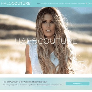 HALOCOUTURE - Halo & Tape-In Hair Extensions