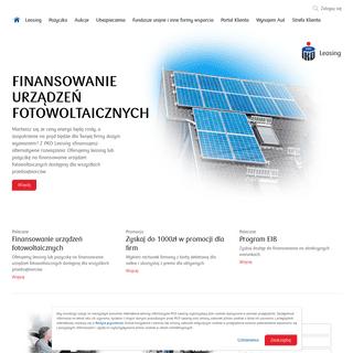 PKO Leasing - finansowanie dla firm i osób prywatnych