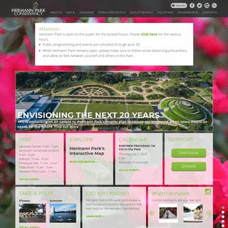 Hermann Park Conservancy - Hermann Park Conservancy