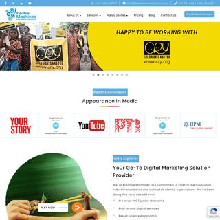Kreative Machinez - Top Digital Marketing Company in Kolkata, India