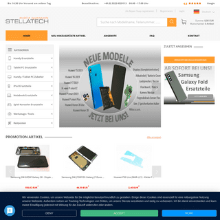 Original Smartphone & Tablet Ersatzteile - STELLATECH
