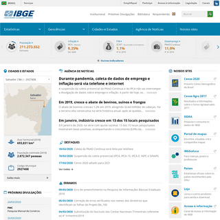 IBGE - Portal do IBGE - IBGE