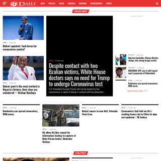 Daily Correspondents - Breaking news today, Politics and Nigerian news on Daily correspondents